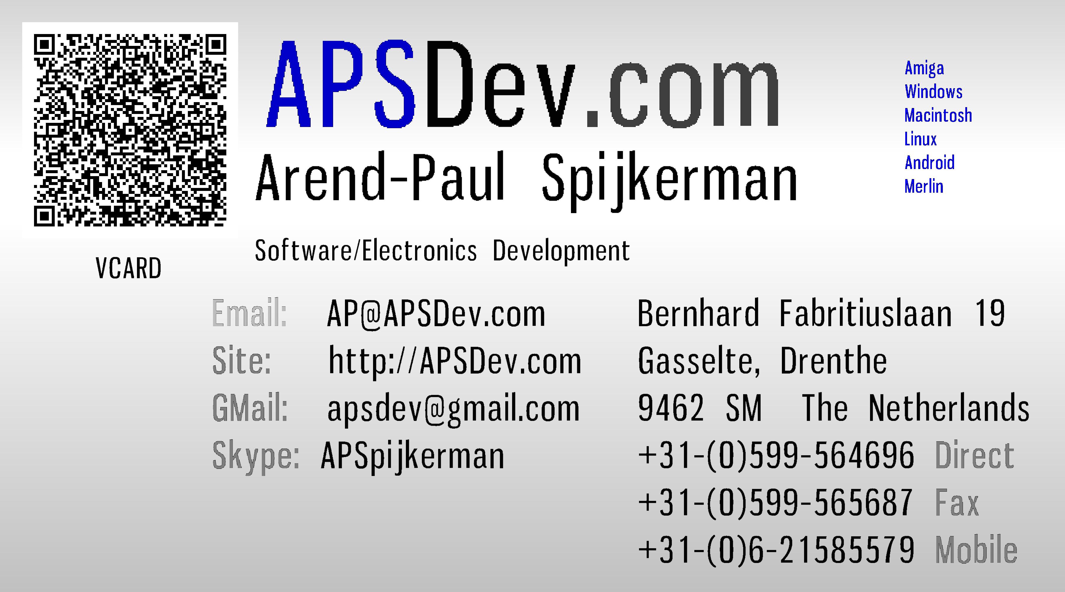 APSDev: Services